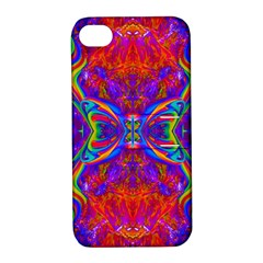 Butterfly Abstract Apple Iphone 4/4s Hardshell Case With Stand