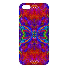 Butterfly Abstract Iphone 5s Premium Hardshell Case by icarusismartdesigns