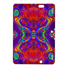 Butterfly Abstract Kindle Fire Hdx 8 9  Hardshell Case by icarusismartdesigns