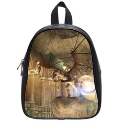 The Dragon School Bags (small)  by FantasyWorld7