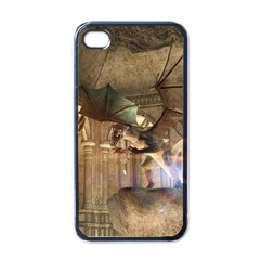 The Dragon Apple Iphone 4 Case (black) by FantasyWorld7