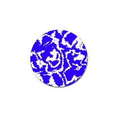 Migraine Blue Golf Ball Marker (10 Pack) by MoreColorsinLife