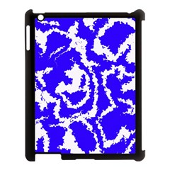 Migraine Blue Apple Ipad 3/4 Case (black) by MoreColorsinLife