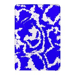 Migraine Blue Samsung Galaxy Tab Pro 10 1 Hardshell Case by MoreColorsinLife