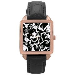 Migraine Bw Rose Gold Watches by MoreColorsinLife
