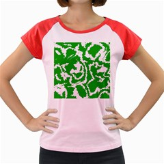 Migraine Green Women s Cap Sleeve T Shirt