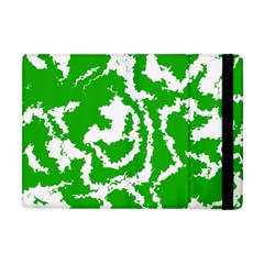 Migraine Green Apple Ipad Mini Flip Case by MoreColorsinLife