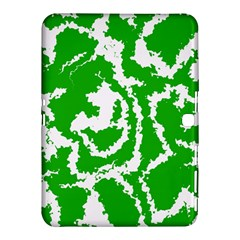 Migraine Green Samsung Galaxy Tab 4 (10 1 ) Hardshell Case  by MoreColorsinLife