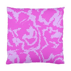 Migraine Pink Standard Cushion Cases (two Sides)  by MoreColorsinLife