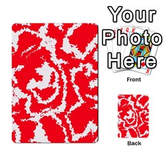 Migraine Red White Multi Purpose Cards (rectangle)  by MoreColorsinLife