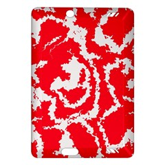 Migraine Red White Kindle Fire Hd (2013) Hardshell Case by MoreColorsinLife
