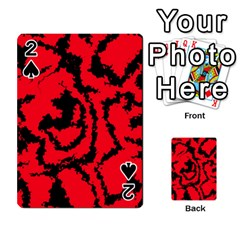 Migraine Red Playing Cards 54 Designs