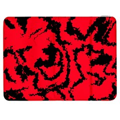 Migraine Red Samsung Galaxy Tab 7  P1000 Flip Case by MoreColorsinLife