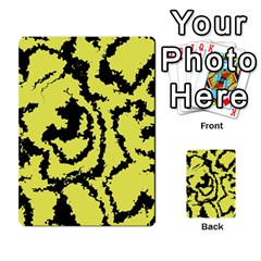 Migraine Yellow Multi Purpose Cards (rectangle)  by MoreColorsinLife
