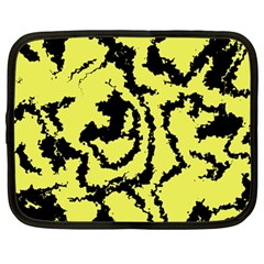 Migraine Yellow Netbook Case (large)	 by MoreColorsinLife