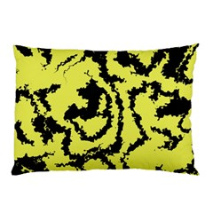 Migraine Yellow Pillow Cases by MoreColorsinLife