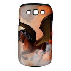 The Dark Unicorn Samsung Galaxy S Iii Classic Hardshell Case (pc+silicone) by FantasyWorld7