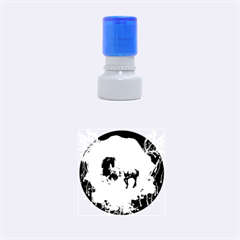 Wonderful Horses Rubber Round Stamps (small)