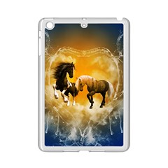 Wonderful Horses iPad Mini 2 Enamel Coated Cases by FantasyWorld7