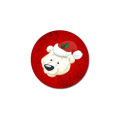 Funny Polar Bear Golf Ball Marker (10 Pack) by FantasyWorld7