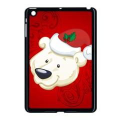 Funny Polar Bear Apple Ipad Mini Case (black) by FantasyWorld7