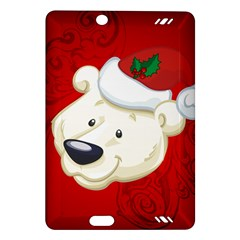 Funny Polar Bear Kindle Fire HD (2013) Hardshell Case by FantasyWorld7
