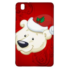 Funny Polar Bear Samsung Galaxy Tab Pro 8 4 Hardshell Case by FantasyWorld7