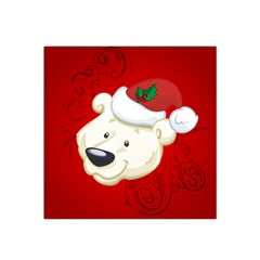 Funny Polar Bear Satin Bandana Scarf by FantasyWorld7