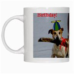 Birthday Dogs White Mug