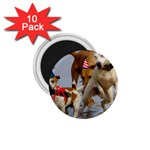 Birthday Dogs 1.75  Magnet (10 pack)