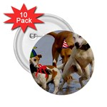 Birthday Dogs 2.25  Button (10 pack)
