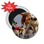 Birthday Dogs 2.25  Magnet (10 pack)