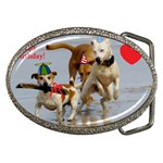 Birthday Dogs Belt Buckle