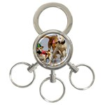 Birthday Dogs 3-Ring Key Chain