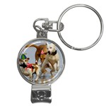 Birthday Dogs Nail Clippers Key Chain