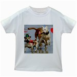 Birthday Dogs Kids White T-Shirt
