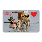 Birthday Dogs Magnet (Rectangular)