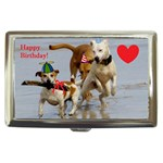 Birthday Dogs Cigarette Money Case