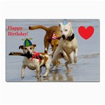 Birthday Dogs Postcard 4  x 6