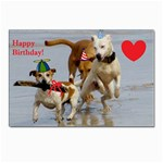 Birthday Dogs Postcard 5  x 7