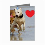 Birthday Dogs Mini Greeting Card