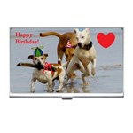 Birthday Dogs Business Card Holder