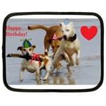 Birthday Dogs Netbook Case (XL)