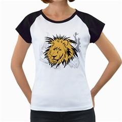Lion Women s Cap Sleeve T by EnjoymentArt