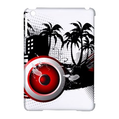 music, speaker Apple iPad Mini Hardshell Case (Compatible with Smart Cover) by EnjoymentArt