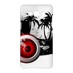 music, speaker Samsung Galaxy A5 Hardshell Case  by EnjoymentArt