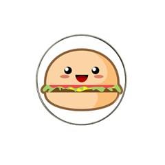 Kawaii Burger Hat Clip Ball Marker by KawaiiKawaii