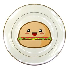 Kawaii Burger Porcelain Plates by KawaiiKawaii