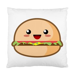 Kawaii Burger Standard Cushion Case (one Side)