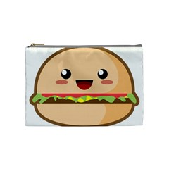 Kawaii Burger Cosmetic Bag (medium)  by KawaiiKawaii